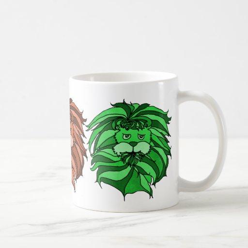 Taza triple del león