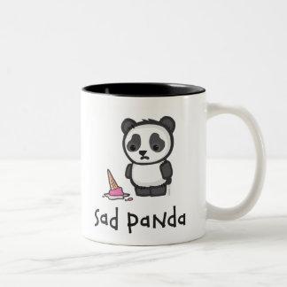 Taza triste de la panda