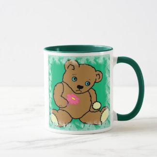 Taza triste del oso