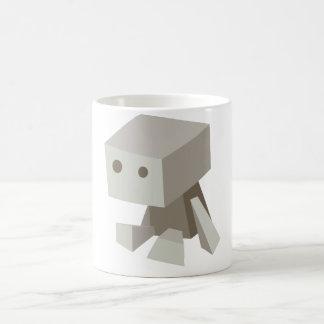 Taza triste del robot