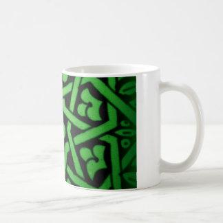 Taza tunecina verde