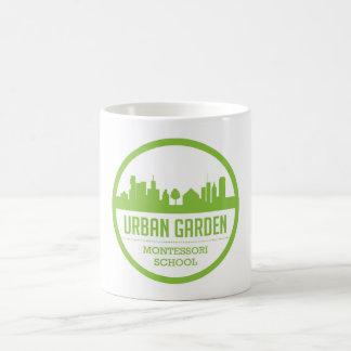 Taza urbana de Montessori del jardín