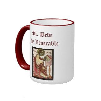 Taza venerable de Bede del santo