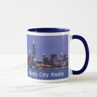 Taza ventosa de la radio de la ciudad