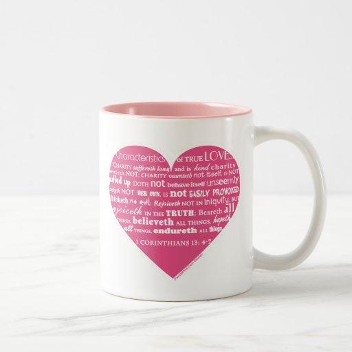 Taza verdadera del amor (más estilos)