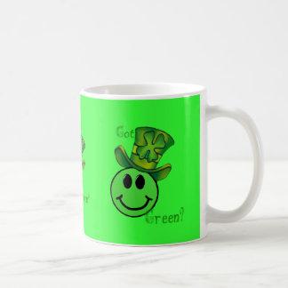Taza verde conseguida