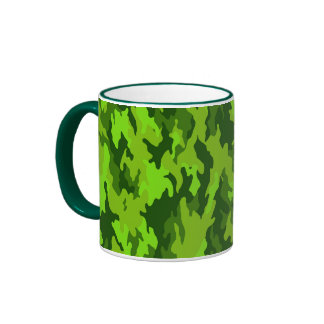 Taza verde de Camo