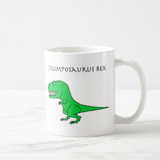 Taza verde de Grumposaurus Rex