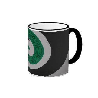 Taza verde de la resaca