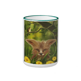 taza verde de la selva