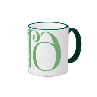 Taza verde de Lara
