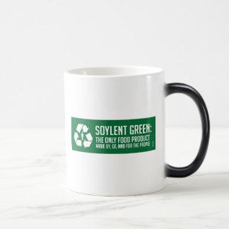 Taza verde de Soylent