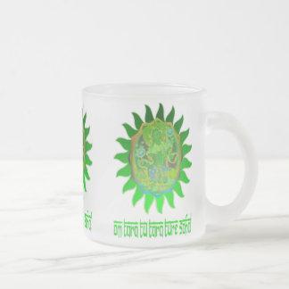 Taza verde de Tara