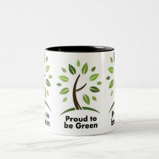 taza verde del eco coffee.tea