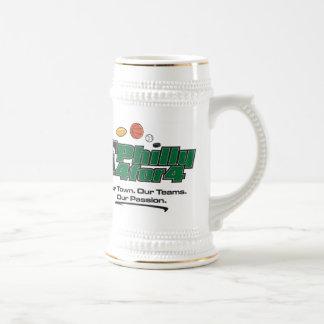 Taza verde del logotipo