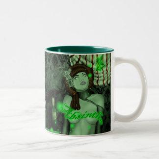 taza verde del tripp