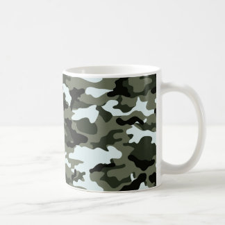 Taza verde militar de Camo