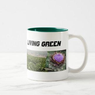 Taza verde viva