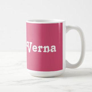 Taza Verna
