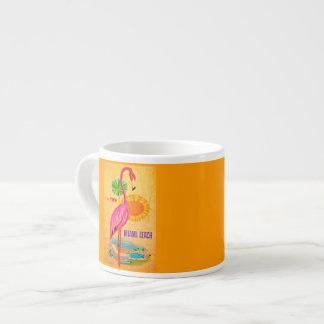 Taza-Vintage Viaje-Miami Taza Espresso