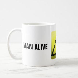 Taza viva del hombre