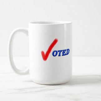 Taza votada