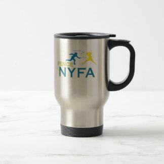Taza w/logo del viaje de la cerca NYFA