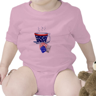 Taza y BagT-Camisa americanas de té
