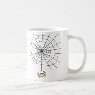 Taza zurda de la araña traviesa