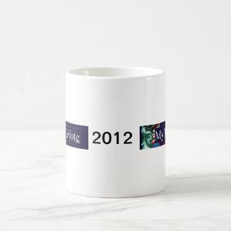 Tazas 2012 de la elección de Mytimetovote