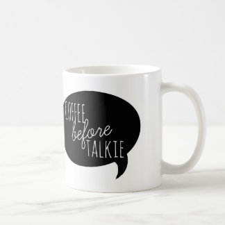 Tazas amistosas: Café antes de la película hablada