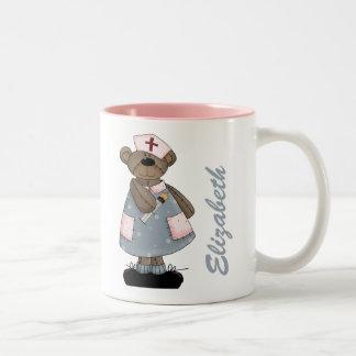 Tazas conocidas del regalo del diseño del oso del