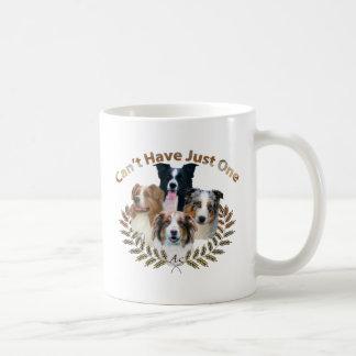 Tazas de café australianas del pastor