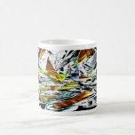 Tazas de café con arte de la fantasía
