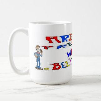 Tazas de café de la diversión del embarazo
