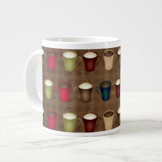 Tazas de café de los amantes del café taza grande