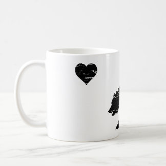 Tazas de café del amor de California