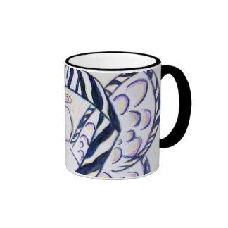 Tazas de café del ángel de la cinta de la