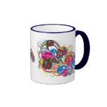 Tazas de café del diseñador