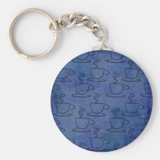 Tazas de café del dril de algodón - regalos del am llavero redondo tipo pin
