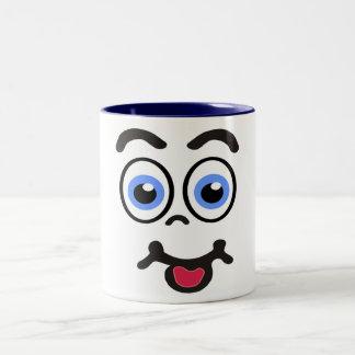 tazas de café divertidas de la cara #1