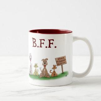 Tazas de café divertidas: Mejores amigos para