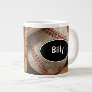 Tazas de café enormes del béisbol taza grande