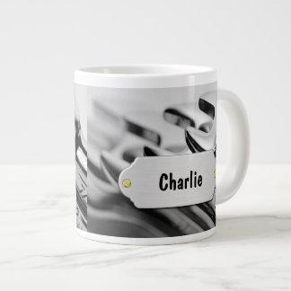 Tazas de café enormes del mecánico tazas jumbo