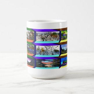 Tazas de café especiales 9prints del artista ameri