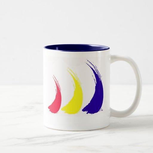 Tazas de café líquidas de las velas del
