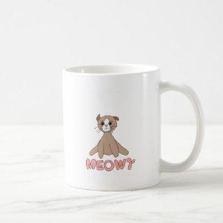 Tazas de café - Meowy el gato