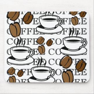 Tazas de café Mousepad Tapete De Raton