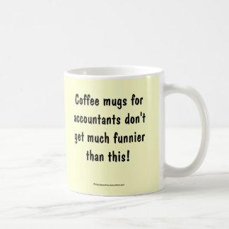 Tazas de café para los contables….El doble echó a