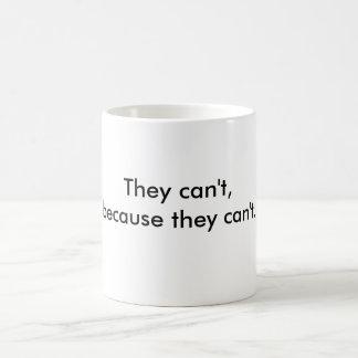 Tazas de café para los realistas
